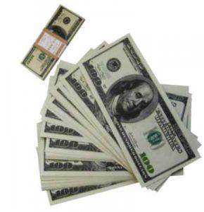 Пачка денег 100$