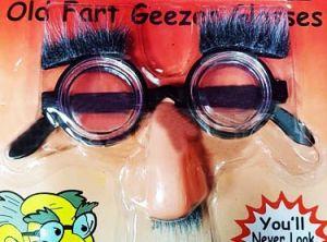 Очки умника с носом